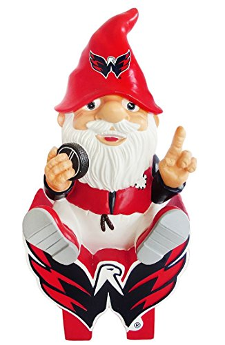 FOCO Washington Capitals Sitting On Logo Gnome by FOCO