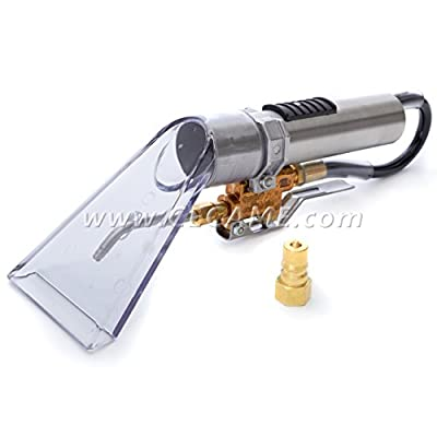 Internal Spray Upholstery Wand with Transparent Vacuum Head