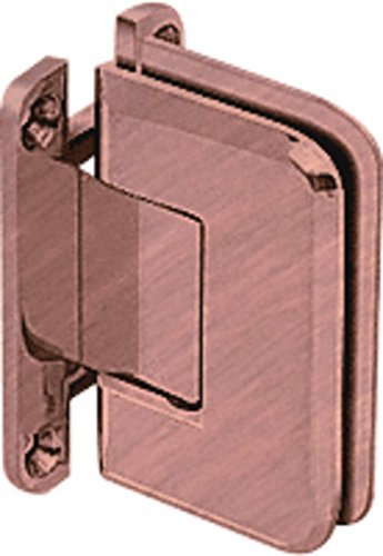 - CRL Pinnacle 037 Series Antique Brushed Copper Wall Mount Full Back Plate Standard Hinge