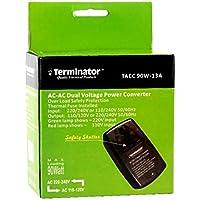 AC to AC 220-240V to 110-120V Dual Voltage Converter Adapter 90W - Terminator