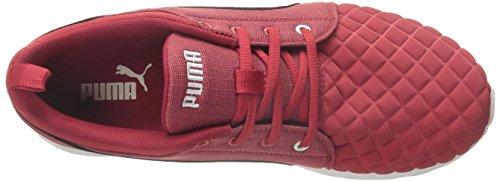 Puma Dames Carson Runner Quilt Hardloopschoen Lipstick Rood / Zwart
