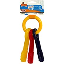 Nylabone Just For Puppies Medium Key Ring Bone Puppy Dog Teething Chew Toy