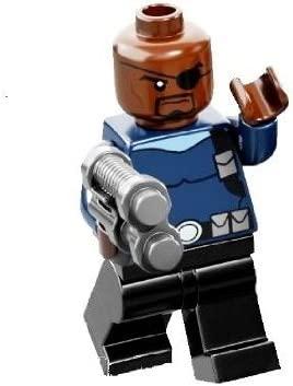 Lego Super Heroes Nick Fury Minifigure