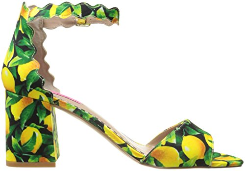 Betsey Johnson Women's Joslyn Dress Sandal Black/Multi aGnjq