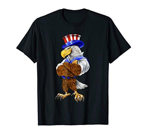 Uncle Sam American Bald Eagle Costume TShirt ()