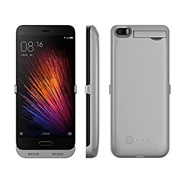 Lifeepro Xiaomi Mi 5 Batería Funda, 5200mAh Battery Case ...