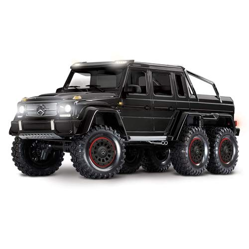 Traxxas TRX-6 Scale and Trail Crawler with Mercedes-Benz G 63 AMG Body: 6X6 Electric Trail Truck with TQi Link Enabled 2.4GHz Radio System (Rc 6x6 Trail Truck)