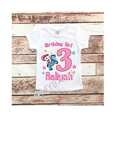 Personalize COWGIRL Birthday T-Shirt - Birthday Outfit - w/Name & Age