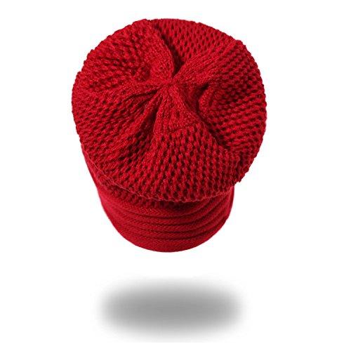 sombreros negro Halloween circulares Men Señoras señoras tapones tapas Invierno auditivos caps térmicos Otoño MASTER sombreros tapas tejidos Caps beanie protectores Red Navidad sombreros 1nYcPPwdqR