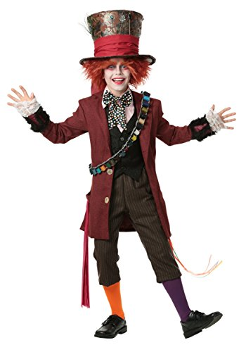 Child Authentic Mad Hatter Costume Large (12-14) ()
