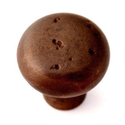 Sierra Mushroom Knob Finish: Dark Bronze, Size: 1.38