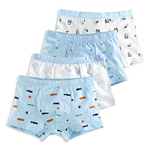 slaixiu Soft Cotton Kids Underwe...