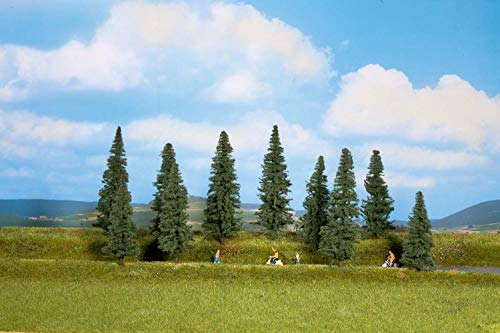 Walthers SceneMaster Pine Trees (10 per Train), Large ()