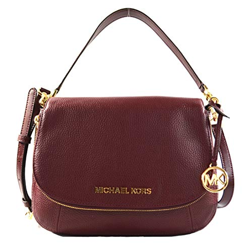 Michael Kors burgundy crossbody bag