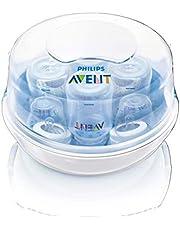 Esterilizador de Microondas, Philips Avent, Azul/Branco