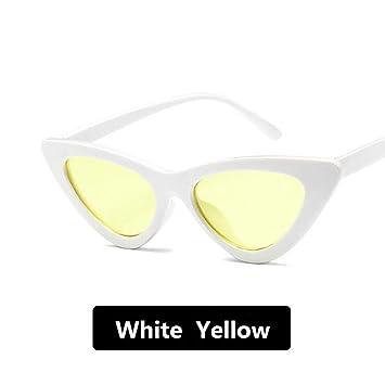 CCGSDJ Gafas De Sol Mujer Triángulo Retro Gafas De Sol con ...