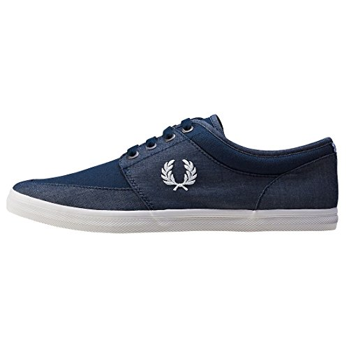 Fred Perry Stratford Chambray Canvas Navy B1170608, Deportivas