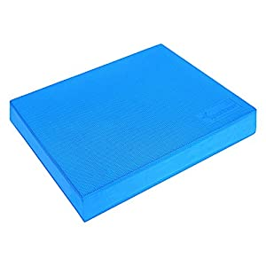 """Balance Pad Sportneer X Large 19.6""""X15.7"""" Foam Balance Board Pads for Yoga Exercise Stability Training Therapy, Non Slip and Sweat Proof"""