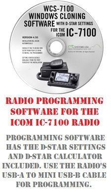 icom ic 7100 two way