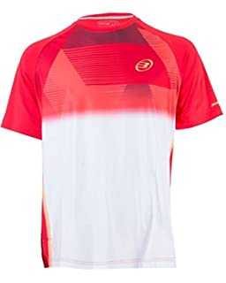 Bull padel CAMISETA BULLPADEL ALGAFE ROJO: Amazon.es ...