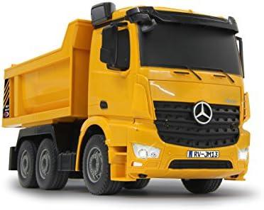 Jamara 405108 - Muldenkipper Mercedes Arocs 1:26 2,4G - Kippmulde hoch / runter, Licht vorne, profilierte Gummireifen