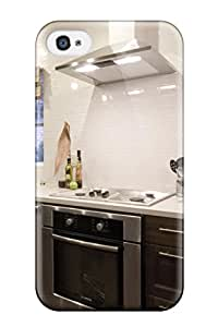 Premium [RTlEbxm1936nCqmQ]kitchen With Dark Stained Wood Cabinets Stainless Appliances Amp White Subway Tile Backsplash Case For Iphone 4/4s- Eco-friendly Packaging
