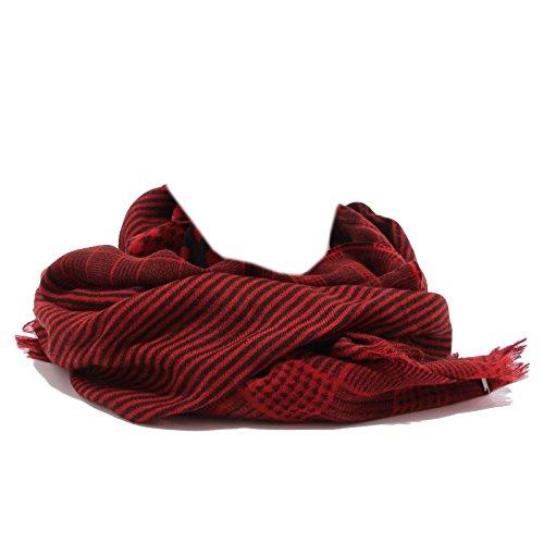 Woman Wool Rosso 1093w Scarf Woolrich Red Sciarpa Donna qdwYx7n07X