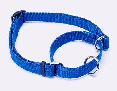 "6907 1"" Adjustable Collar 18-26"" Blue"