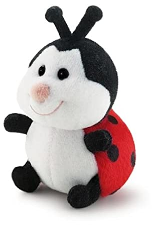 Trudi 52025 Mariquita Negro, Rojo, Color blanco juguete de peluche - juguetes de peluche