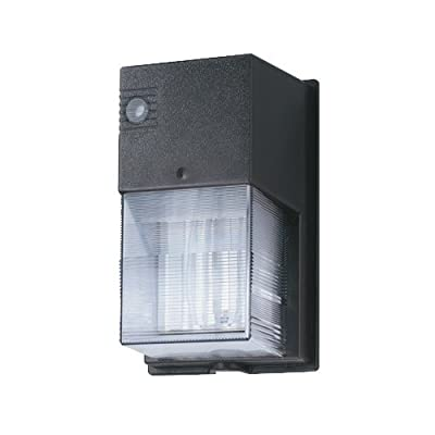 Lithonia Lighting OVWP LED 40K 120 PE BZ M4 Dusk To Dawn Integrated Outdoor LED Wall Pack