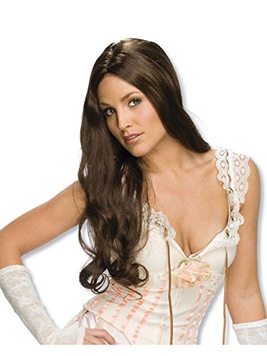 Rubie's Costume Lilah Long Wig, Brown, One Size for $<!--$4.99-->