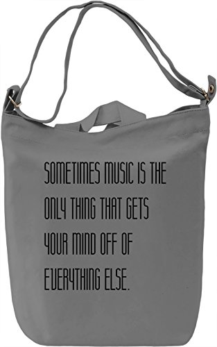 Music Power Borsa Giornaliera Canvas Canvas Day Bag| 100% Premium Cotton Canvas| DTG Printing|