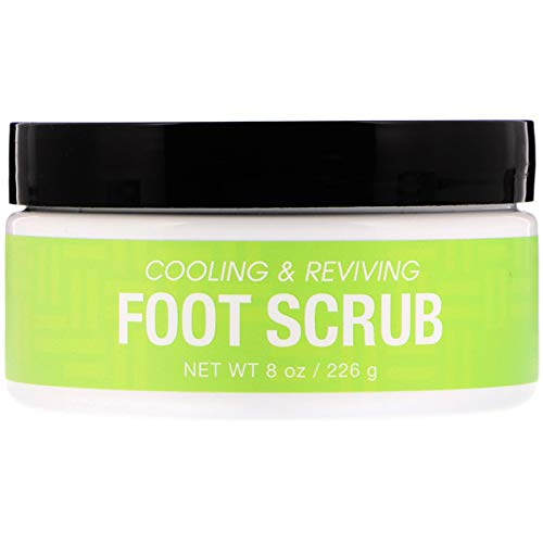Deep Steep Natural Candy Mint Therapeutic Foot Scrub - 8 Ounce by Deep Steep