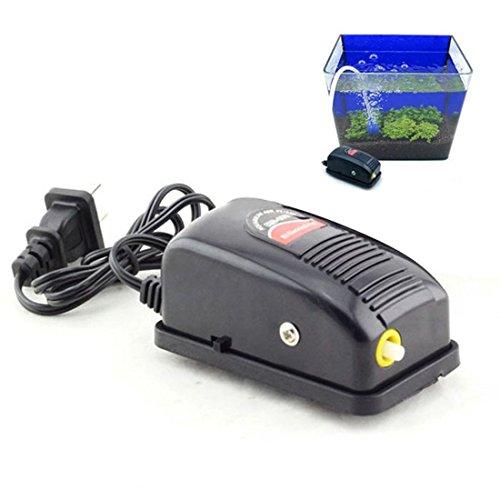 Oksale Ultra Silent Mini 3W 1.5W High Energy Efficient Adjustable Aquarium Fish Tank Oxygen Air Pump (3W--2.5L/min) -  #C154D_zX