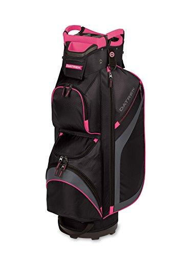 Pink Golf Golf Bag - Datrek DG Lite II Cart Bag, Black/Charcoal/Pink