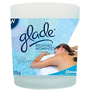 Glade Relaxing Moments Jar Candle - Cool Serenity - 4 oz