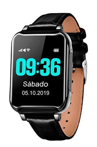 Ecomfactory Elderly Watch, el Reloj-teléfono con GPS y medidor de tensión Que cuida de Nuestros Mayores…