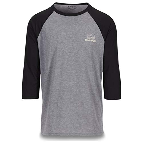 - Dakine Well Rounded 3/4-Sleeve Raglan Tech T-Shirt - Men's Black, M