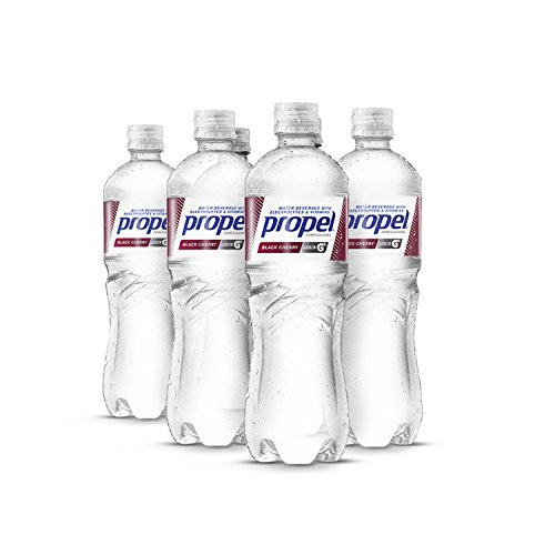 - Propel Water Black Cherry Flavored Water With Electrolytes, Vitamins and No Sugar 16.9 Ounces (Pack of 6)