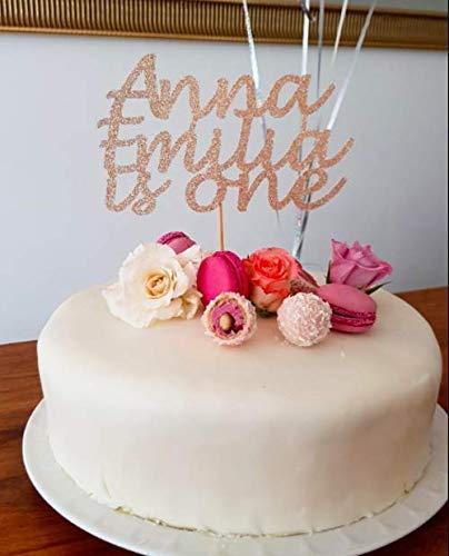 Superb Personalised Birthday Cake Topper Happy Birthday Decorations Any Funny Birthday Cards Online Benoljebrpdamsfinfo