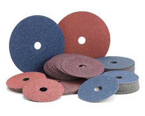Mercer Abrasives 305016-25 9-1/8-Inch by 7/8-Inch Aluminum Oxide Resin Fibre Discs, 16 Grit, 25-Pack
