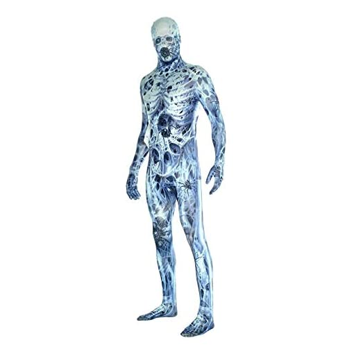 Morphsuits Men's Arachnamania Monsters Fancy Dress Costume-Size Xlarge-180 to 186cm, Arachnomania, X-Large