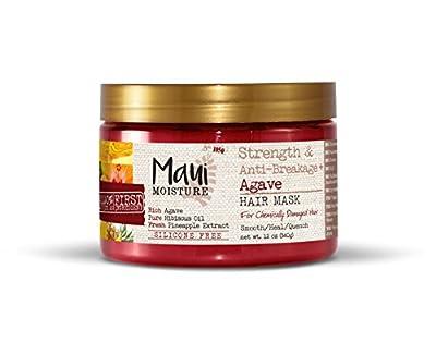 Maui Moisture Strength & Anti-Breakage + Agave Nectar Hair Mask, 12 Ounce