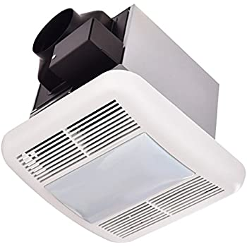 Broan 678 Ventilation Fan And Light Combination 50 Cfm And 2 5 Sones Built In Household