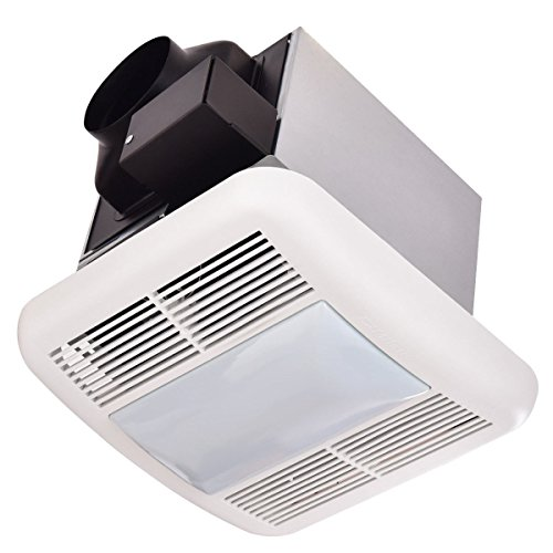 quiet bathroom fan with light - 8