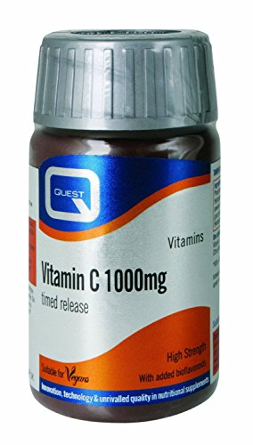 (2 PACK) - Quest Vitamin C 1000Mg Tablets - Time Release | 120s | 2 PACK - SUPER SAVER - SAVE MONEY