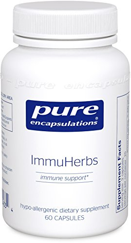 Pure Encapsulations ImmuHerbs Hypoallergenic Combination product image