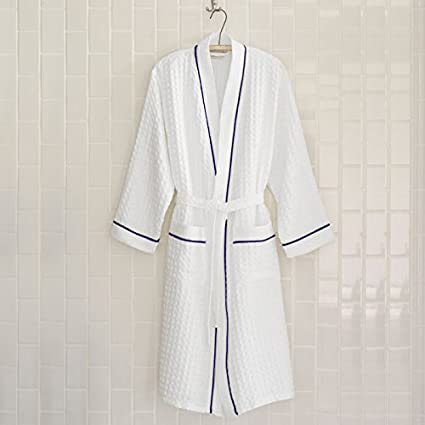 db3885d73c Image Unavailable. Image not available for. Color  Peacock Alley Waffle  Bath Robe ...