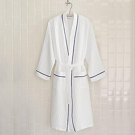 07e76150bf Amazon.com  Peacock Alley Waffle Bath Robe