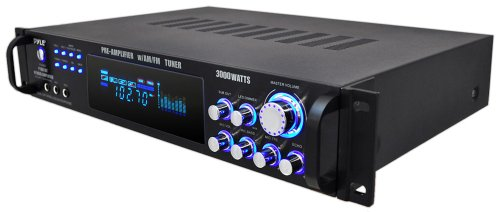 Pyle P3001AT 3000W Hybrid Pre Amplifier with AM/FM Tuner by Pyle (Image #3)